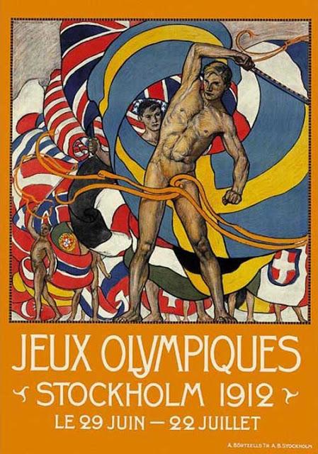 Jeux Olympiques Stockholm 1912