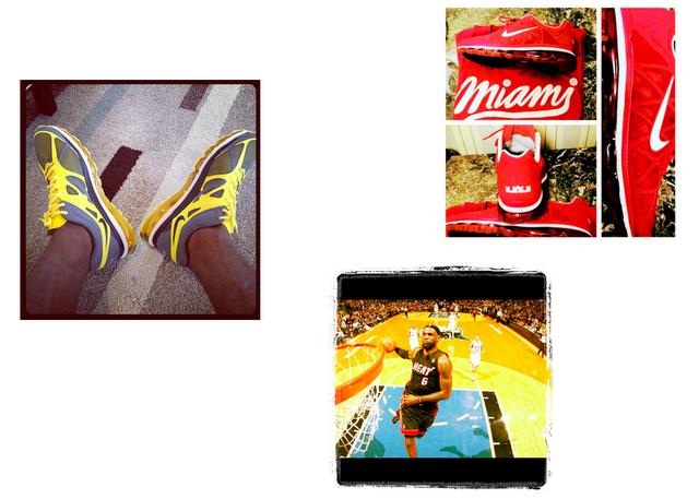 Lebron James, sportif présent sur Instagram