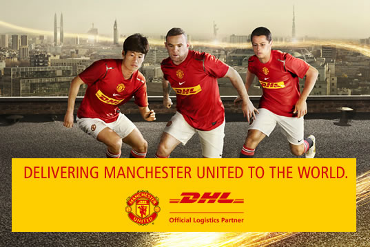 photo DHL Manchester United