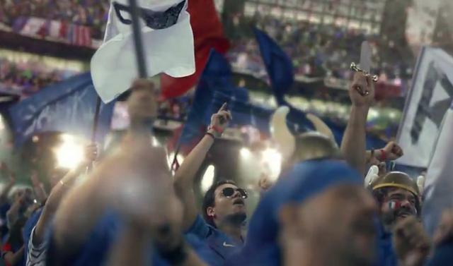 Supporters français en finale de l'Euro 2012 - My time is now