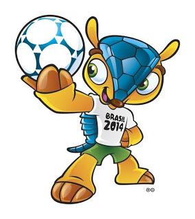 La mascotte officielle de la Coupe du monde 2014